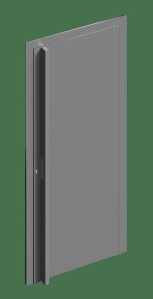 TORIX - aluminium deurgreep - DTR-B-01