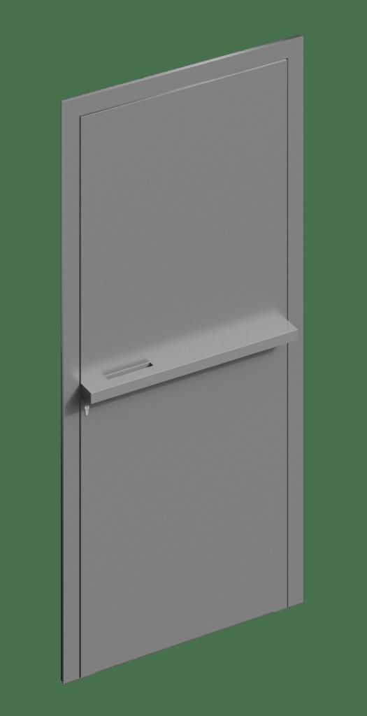TORIX - aluminium deurgreep - DTR-B-02