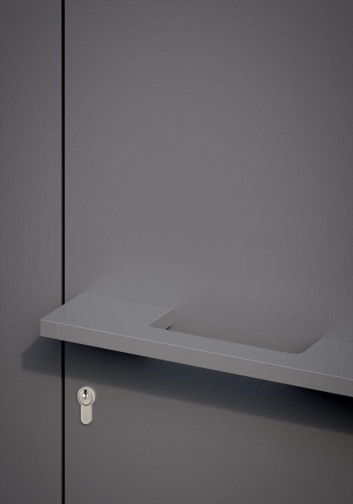 TORIX - aluminium deurgreep - DTR-P-01 DETAIL