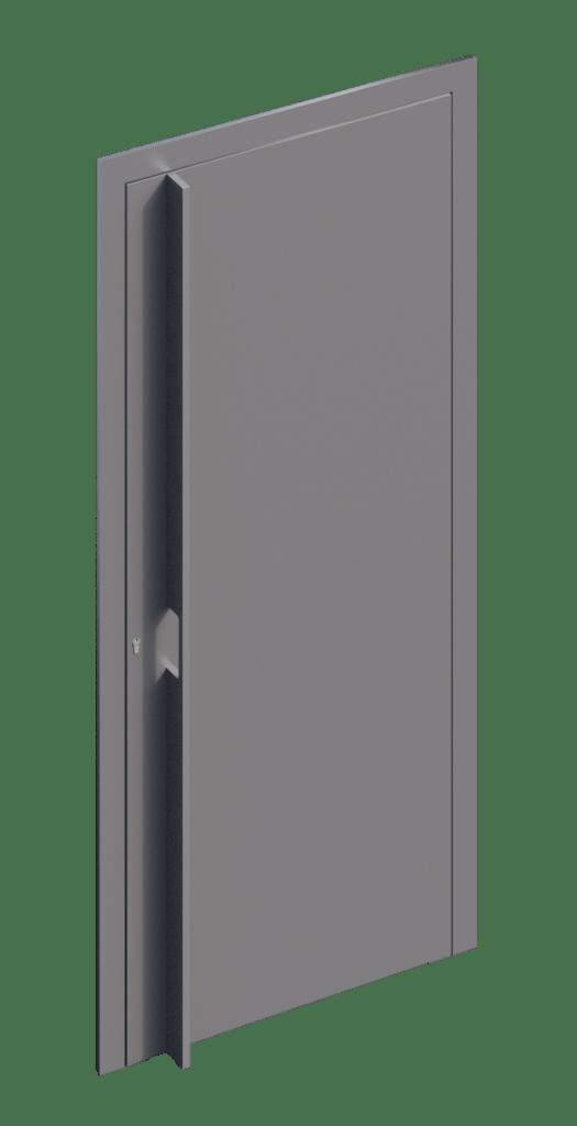 TORIX - aluminium deurgreep - DTR-P-02