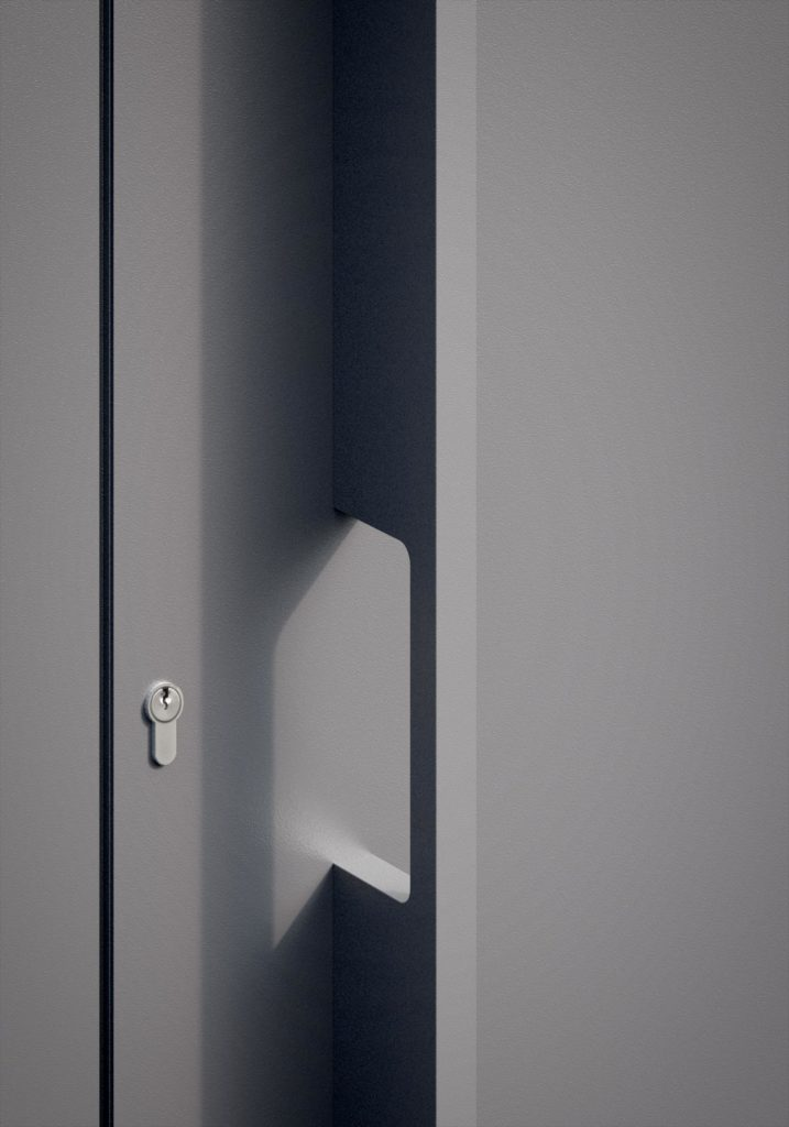 TORIX - aluminium deurgreep - DTR-P-02 DETAIL