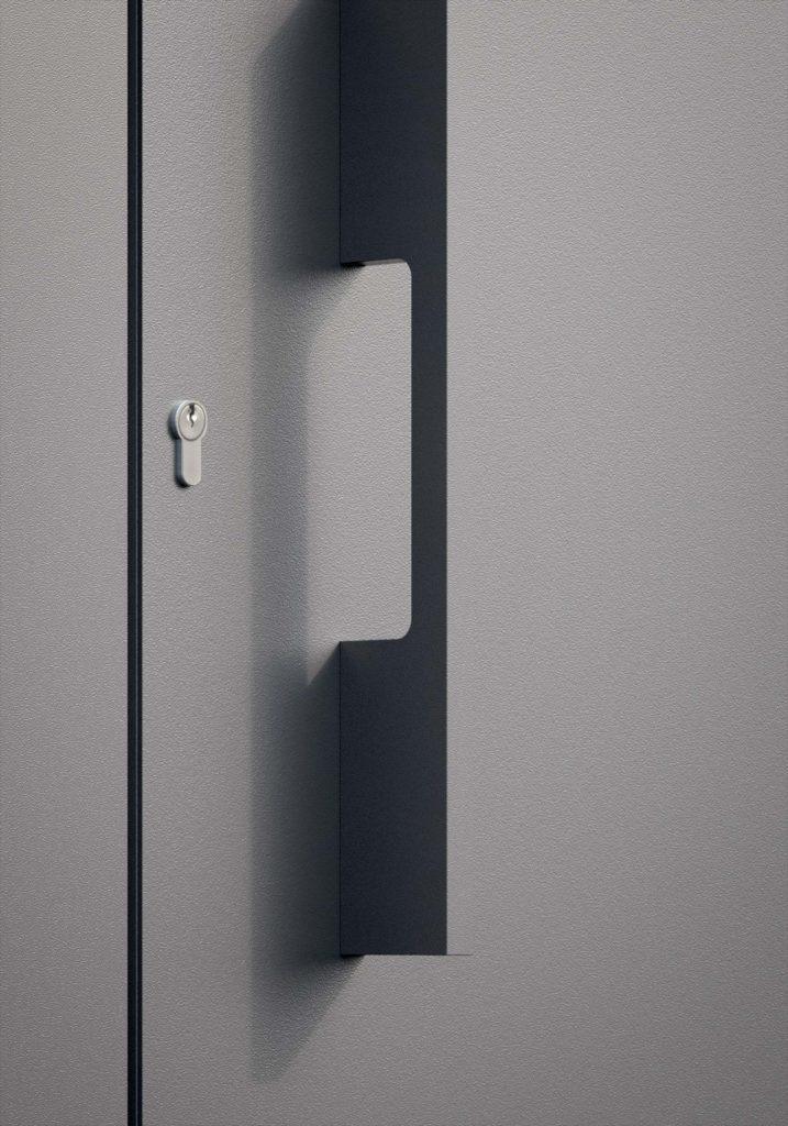 TORIX - aluminium deurgreep - DTR-P-03 DETAIL