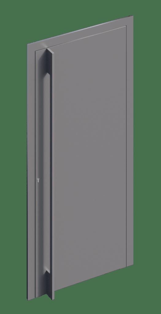 TORIX - aluminium deurgreep - DTR-P-04
