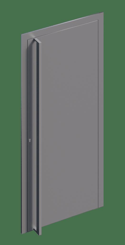 TORIX - aluminium deurgreep - DTR-U-03