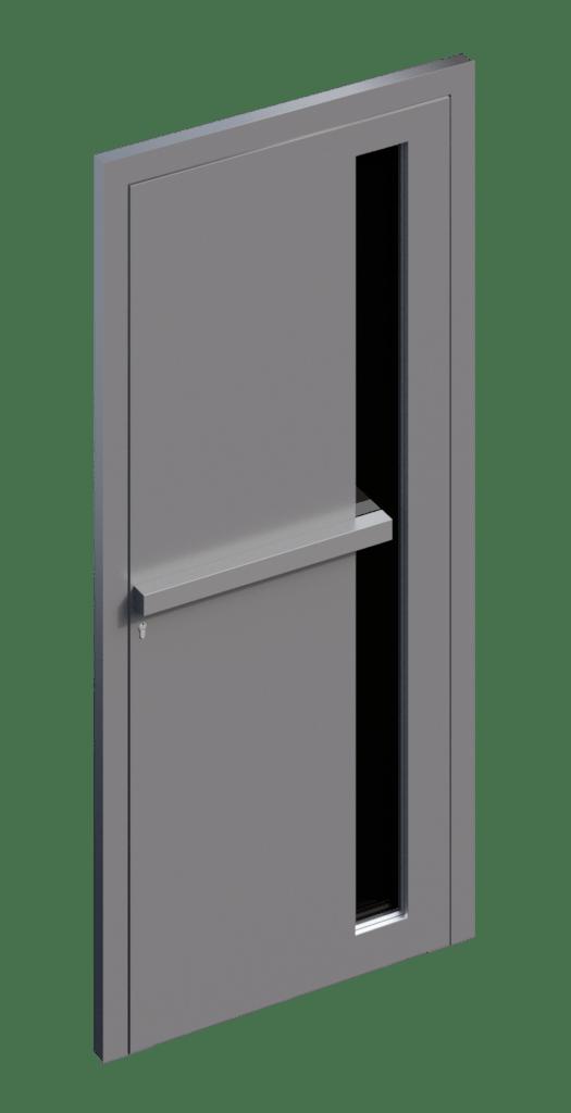 TORIX - aluminium deurgreep - DTR-V-01