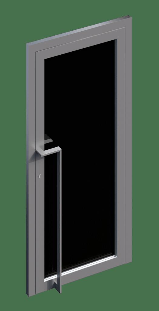 TORIX - aluminium deurgreep - DTR-Z-01