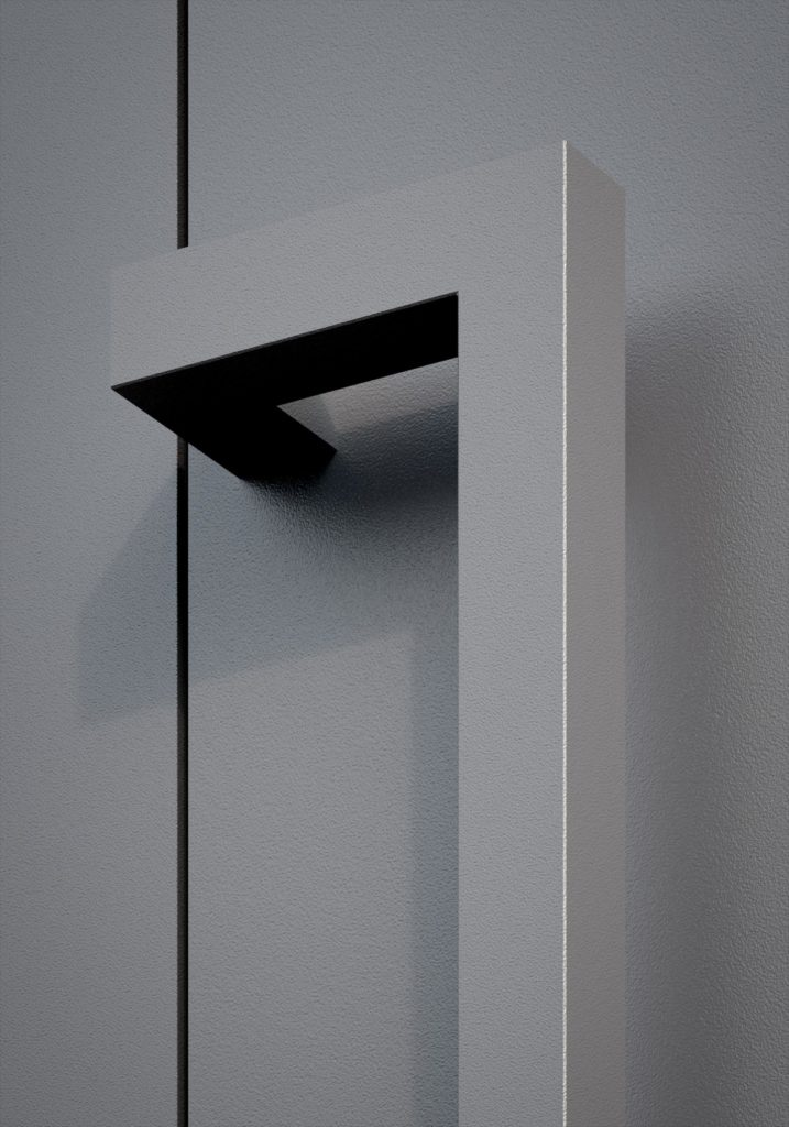 TORIX - aluminium deurgreep - DTR-Z-02 DETAIL