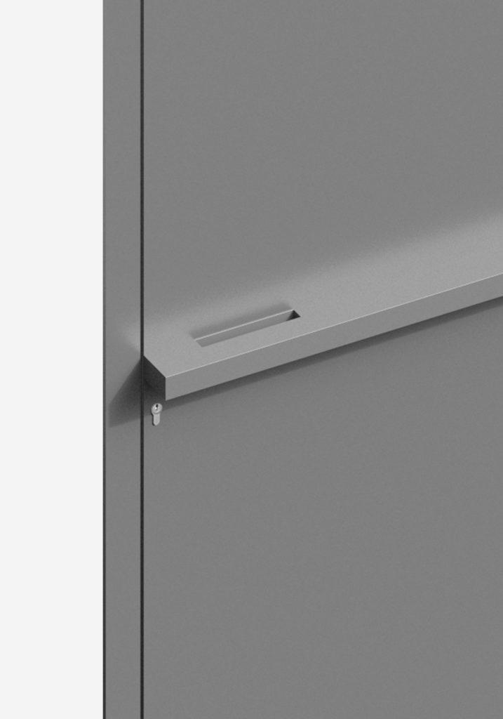 TORIX - aluminium deurgreep - DTR-B-02 DETAIL