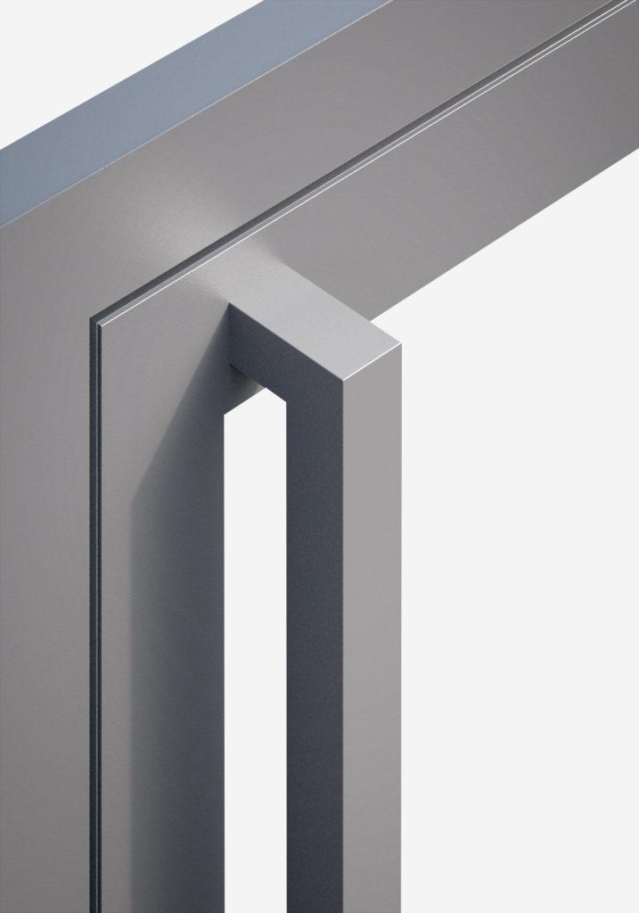 TORIX - aluminium deurgreep - DTR-U-01 DETAIL
