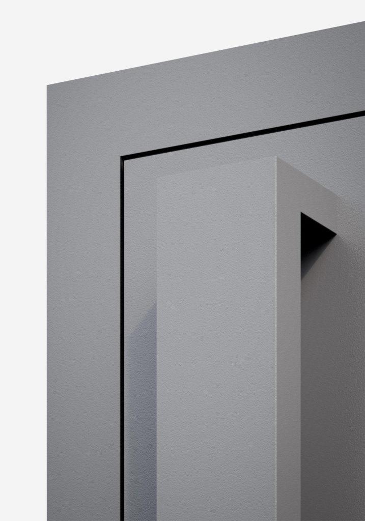 TORIX - aluminium deurgreep - DTR-U-02 DETAIL