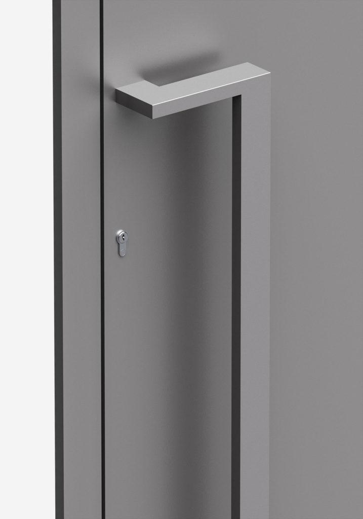 TORIX - aluminium deurgreep - DTR-Z-03 DETAIL